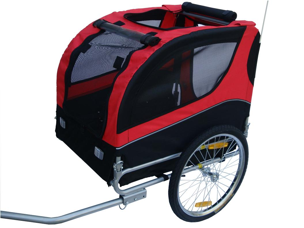 skiiddii foldable dog stroller pet bicycle trailer bike. Black Bedroom Furniture Sets. Home Design Ideas